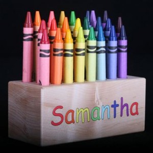 crayon block